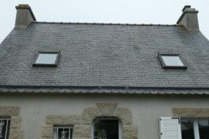 anciennes fenêtres de toit